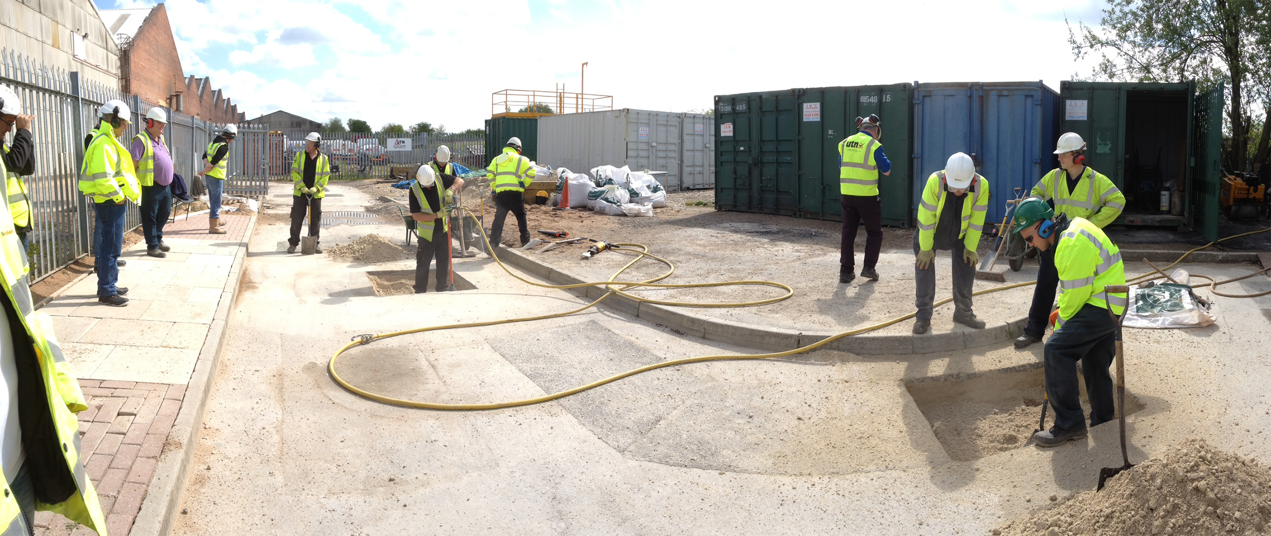 New Roads Street Works Training course in action