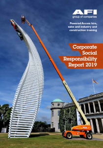 AFI CSR document_front cover_2019